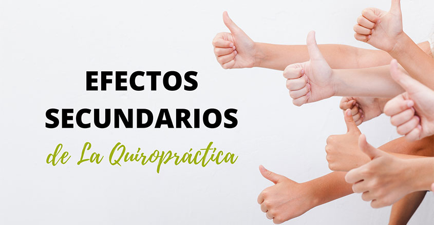 Efectos secundarios de la quiropráctica