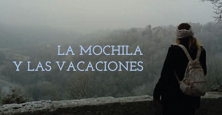 Imagen mjer con mochila Pura Vida Barcelona