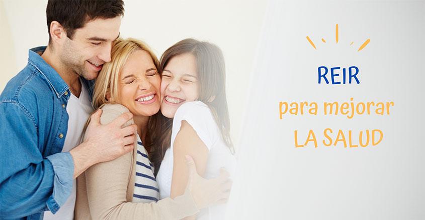 Imagen reir para mejorar la salud Quiropráctica Barcelona